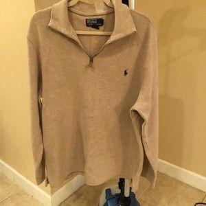 Polo Ralph Lauren tan long sleeve sweater